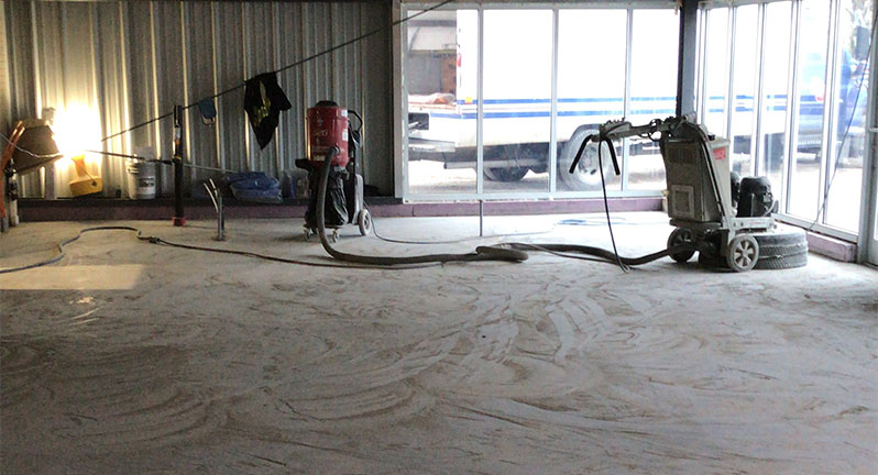 Concrete Floor Stripping