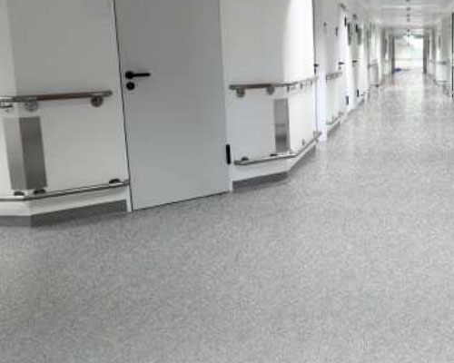 Institutional Concrete Flooring, Health Care Facilities
