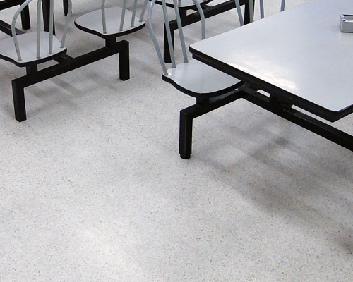 Institutional Concrete Flooring for School classrooms