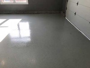 Epoxy Garage Floor in Leamington