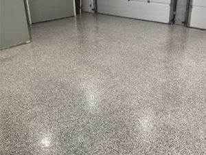 Epoxy Garage Floor in Windsor, Ontario
