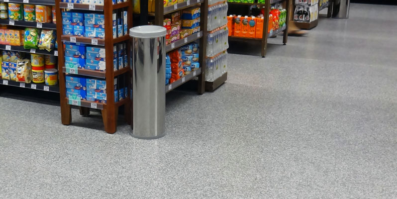 Commercial concrete floor coatings, London, Ontario