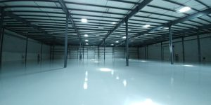 Epoxy Warehouse Flooring, London, Ontario