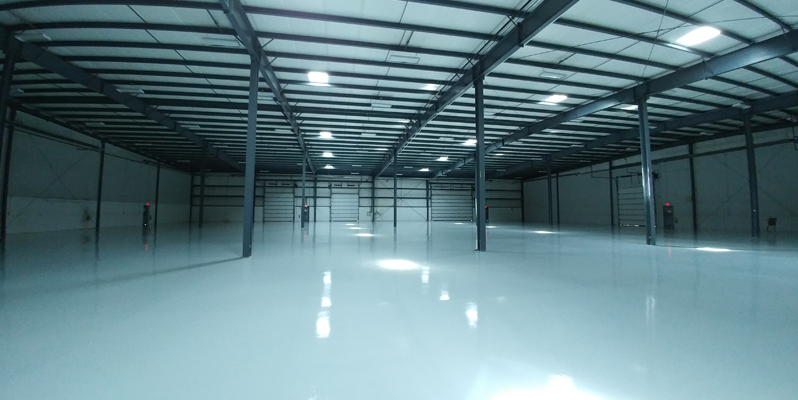 Epoxy Warehouse Flooring System, London, Ontario