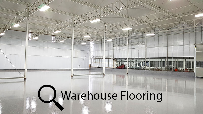 Commercial Warehouse Epoxy Flooring Sarnia